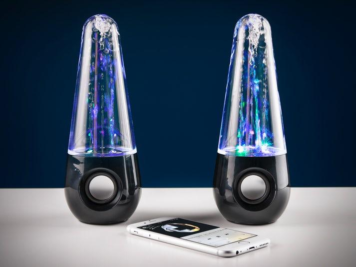 Bluetooth Water Dancing Speakers Image