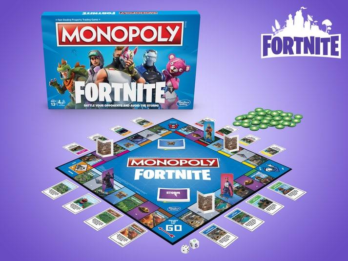 Fortnite Monopoly Peli Image