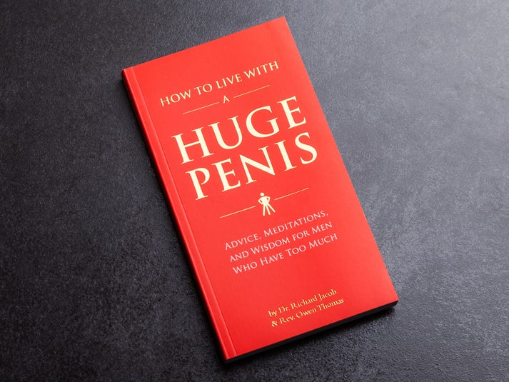How To Live With a Huge Penis kirja Image