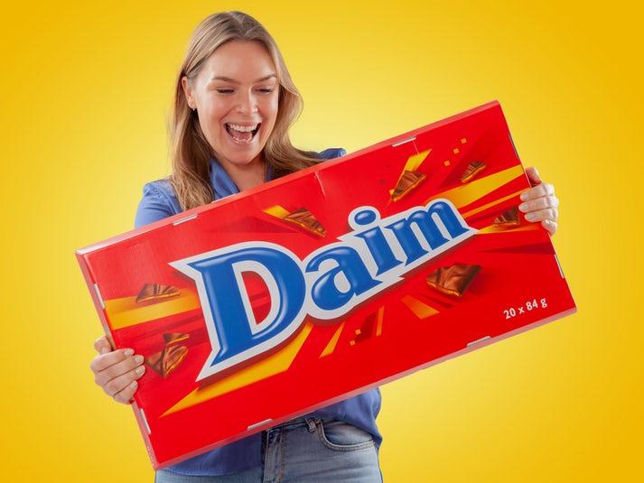 Jättimäinen Suklaa Daim Image