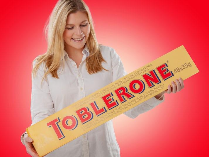 Jättimäinen Suklaa Toblerone Image