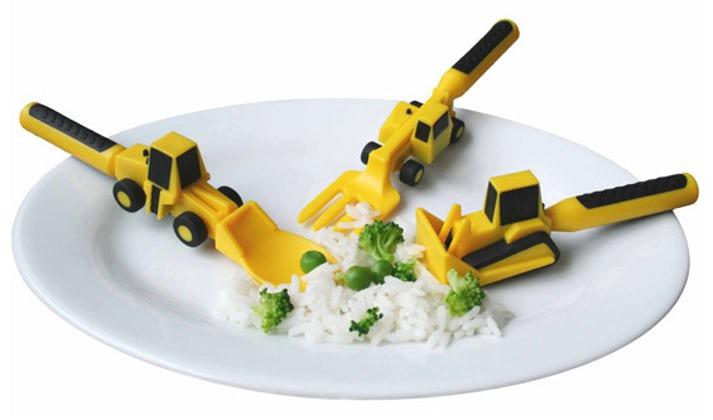 Rakentavat ruokailuvälineet Image