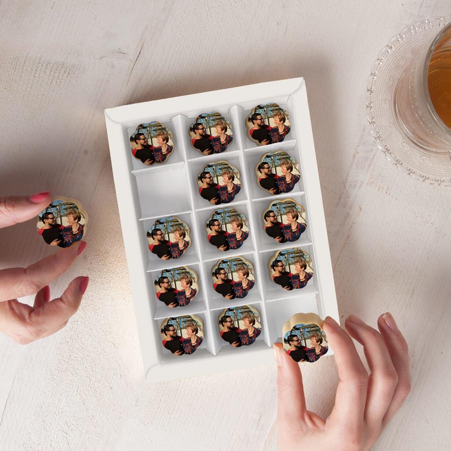 Suklaata ja valokuvaa Image