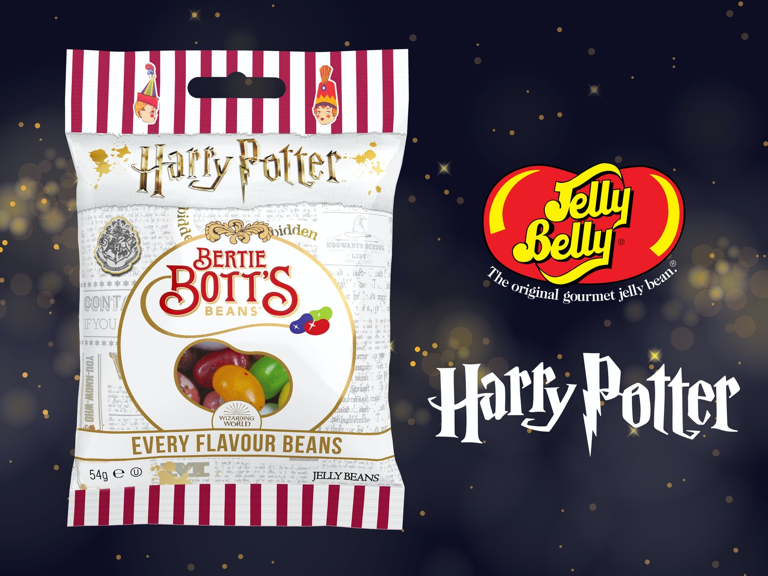 Jelly Belly Bertie Bott's Every Flavour Beans Image