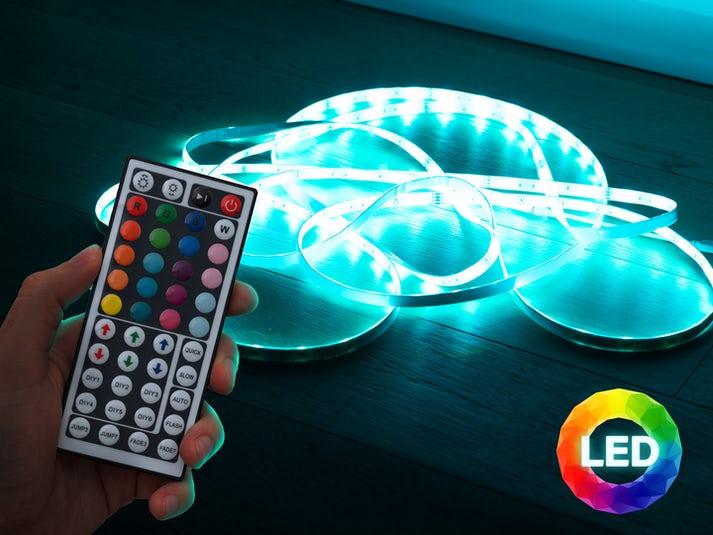 Vooni® LED-valonauha kaukosäätimellä Image