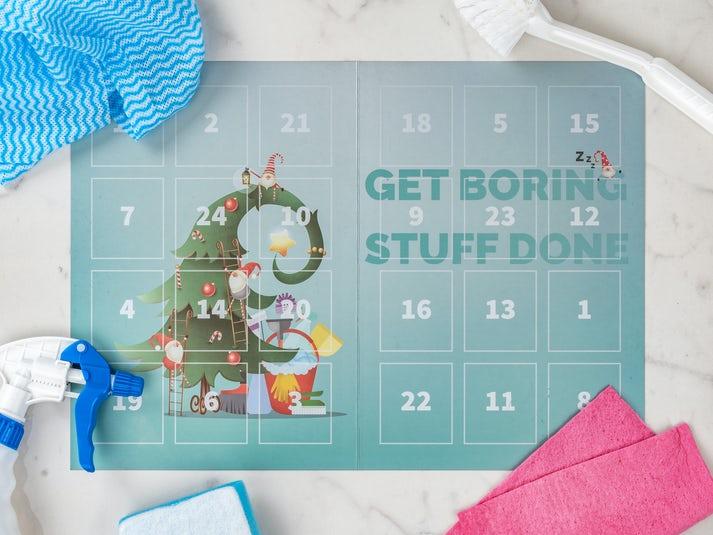 Get Boring Stuff Done Joulukalenteri Image