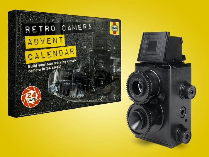 Haynes DIY Retro Camera Joulukalenteri Image