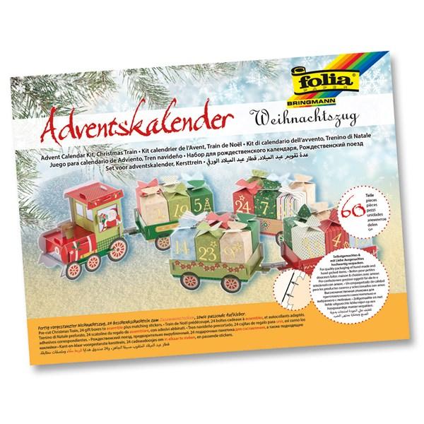 """Joulukalenteri """"Christmas Train"""" 60 osaa Image"""