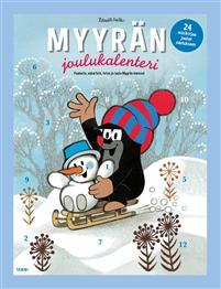 Myyrän kirjajoulukalenteri : 24 minipuuhakirjaa joulun odotukseen Image