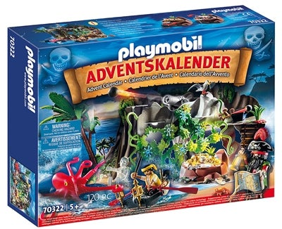 Playmobil Joulukalenteri Merirosvoluola Image