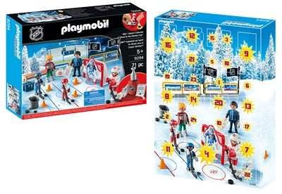Playmobil Joulukalenteri NHL Road To The Cup Image