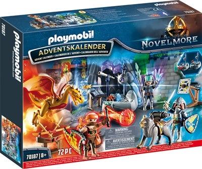 Playmobil Joulukalenteri Taistelu Maagisesta Kivestä Image