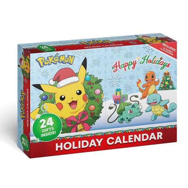 Pokemon Holiday Calendar Image