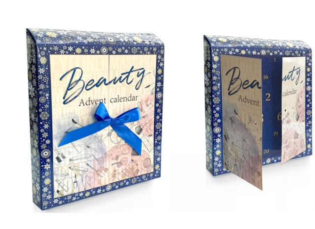 Blue Beauty Advent Calendar Image