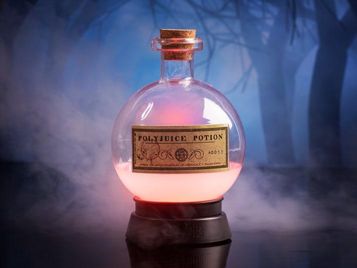 Harry Potter Polyjuice Potion väriä vaihtava lamppu Image