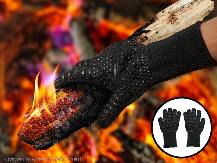 KitchPro® Lämmönkestävät Grillikäsineet Image