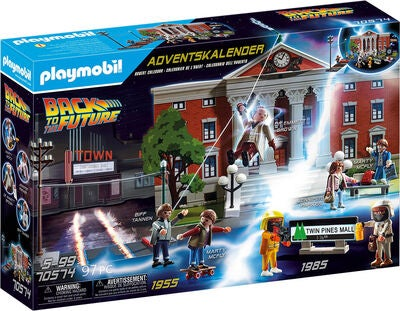 Playmobil Joulukalenteri Back To The Future Image