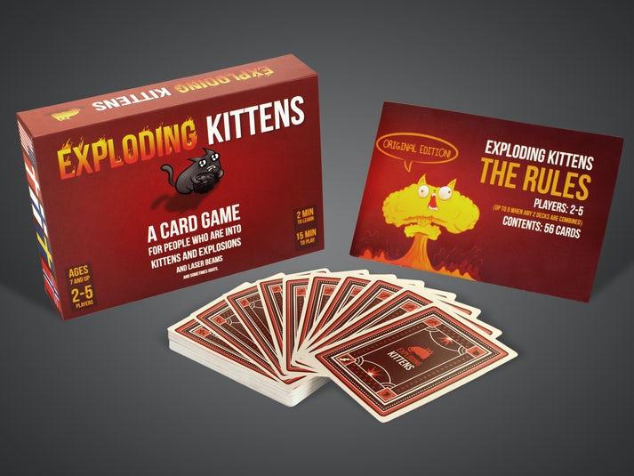 Exploding Kittens -korttipeli Image